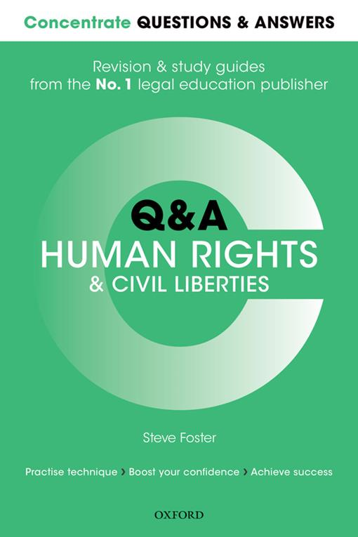 Concentrate Questions and Answers Human Rights and Civil Liberties