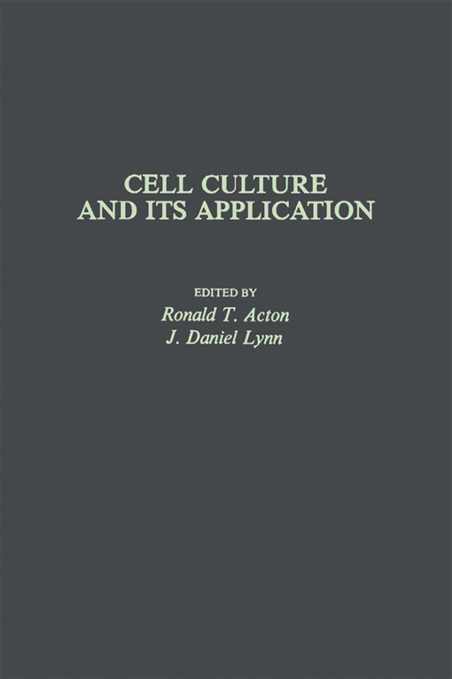 Cell Culture and Its application