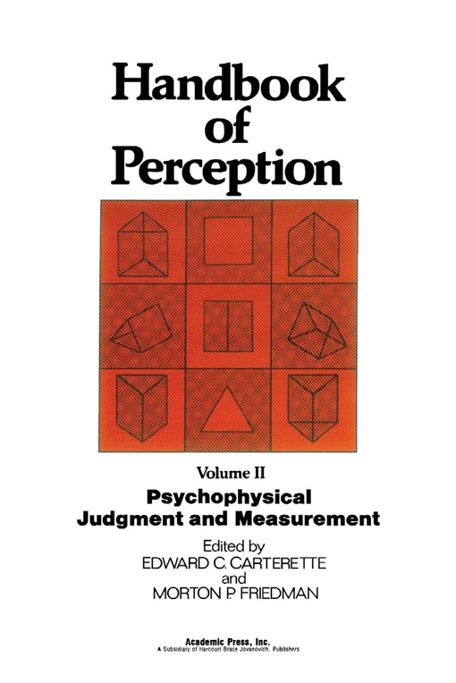 Psychophysical Judgment and Measurement
