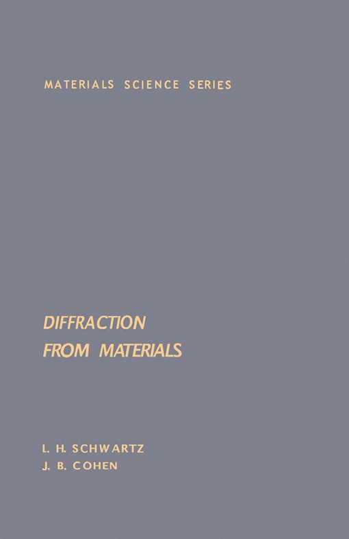 Diffraction From Materials