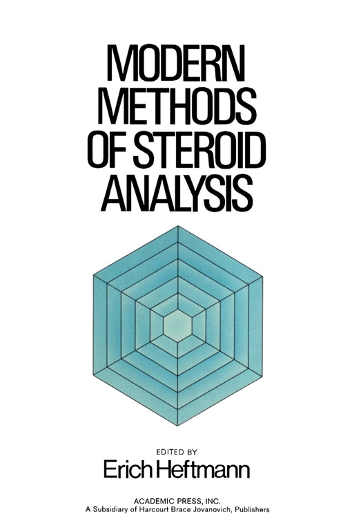 Modern Methods of Steroid analysis