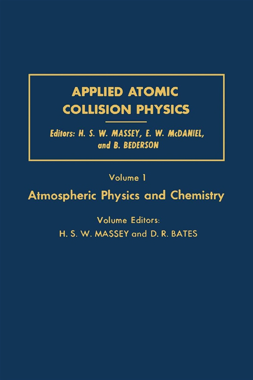 Applied Atomic Collision Physics