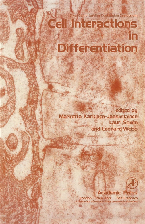 Cell Interactions in Differentiation