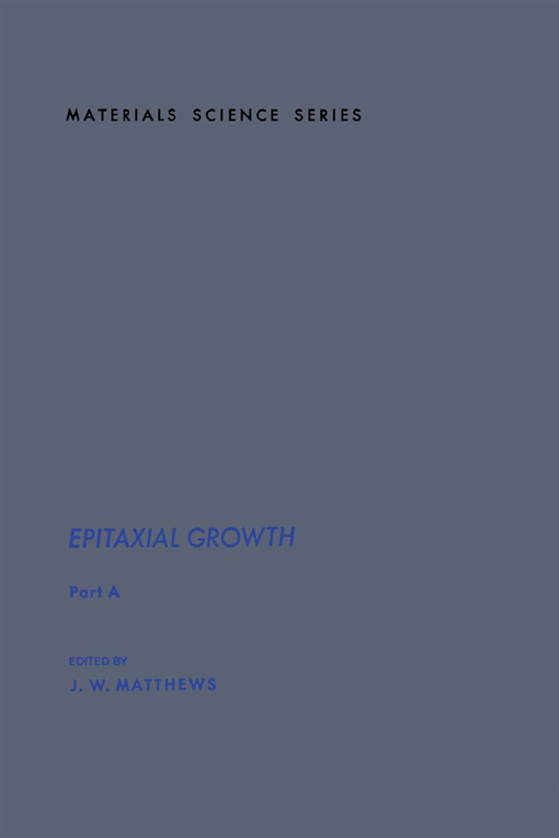 Epitaxial Growth Part A