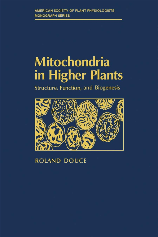 Mitochondria in Higher Plants