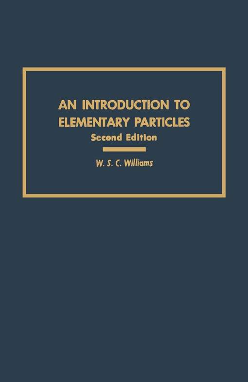 an Introduction to Elementary Particles