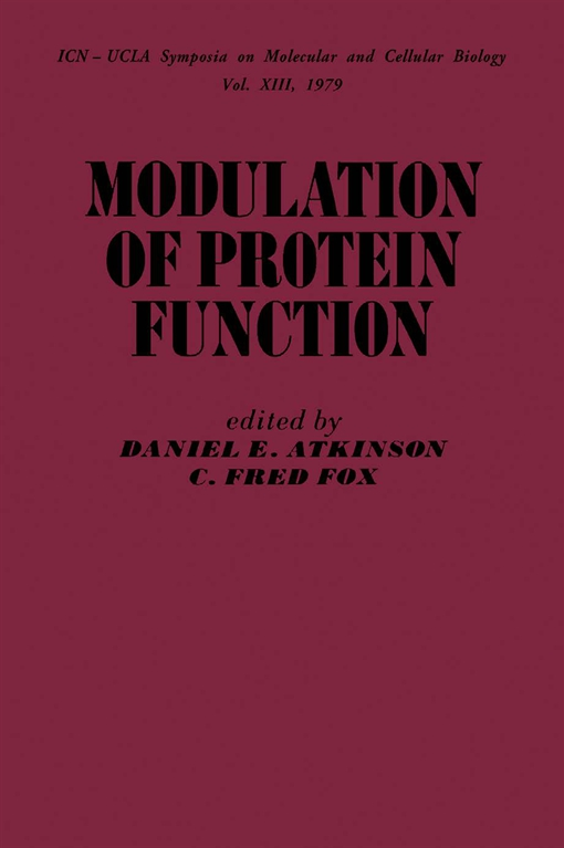 Modulation of Protein Function