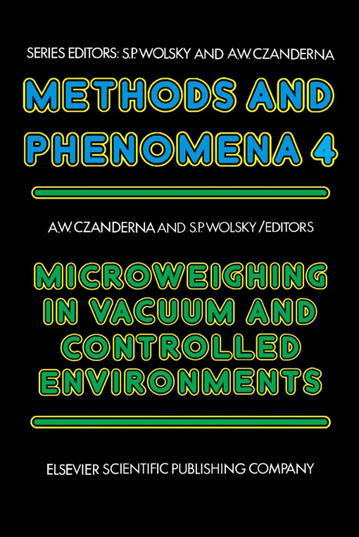 Microweighing in Vacuum and Controlled Environments