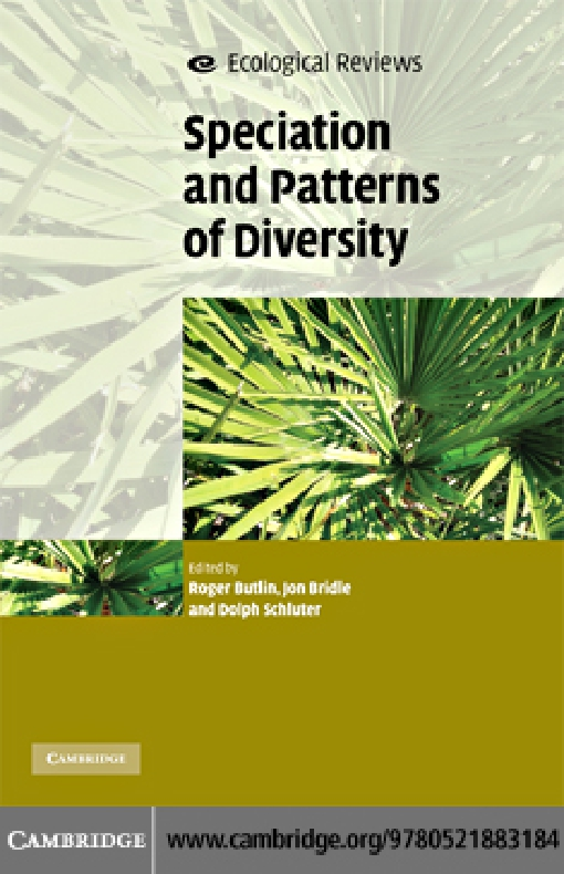 Speciation and Patterns of Diversity