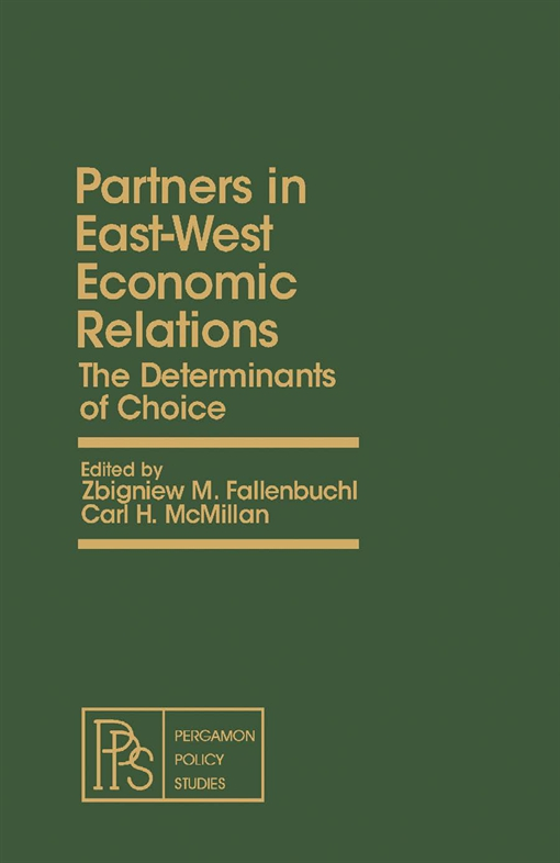 Partners in East-West Economic Relations