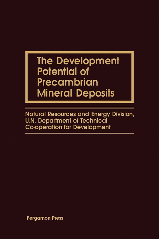 The Development Potential of Precambrian Mineral Deposits