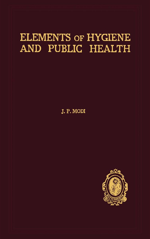 Elements of Hygiene and Public Health