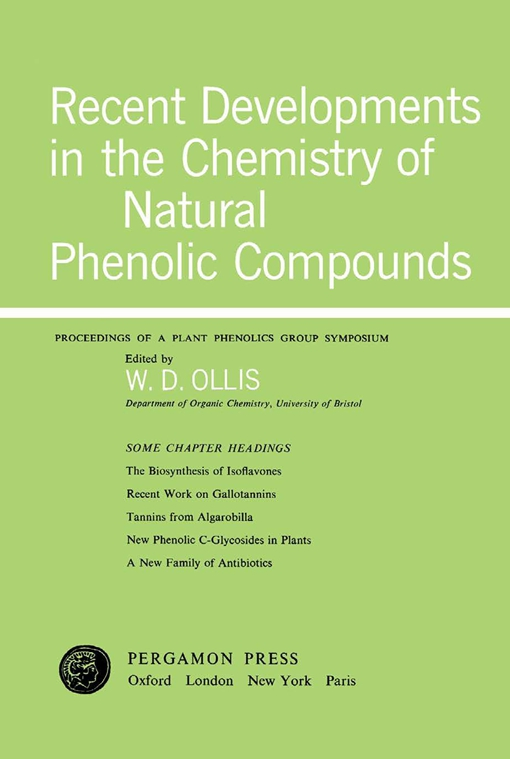 Recent Developments in the Chemistry of Natural Phenolic Compounds