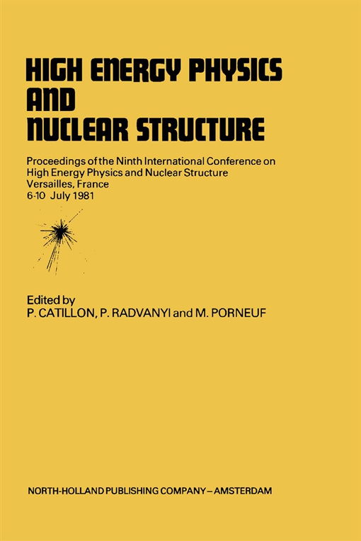High Energy Physics and Nuclear Structure