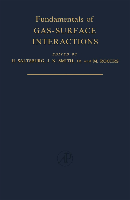 Fundamentals of Gas-Surface Interactions