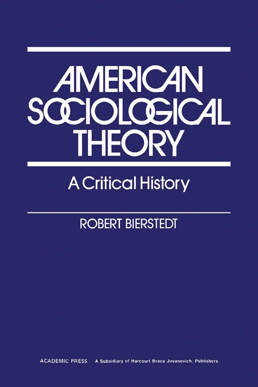 American Sociological Theory