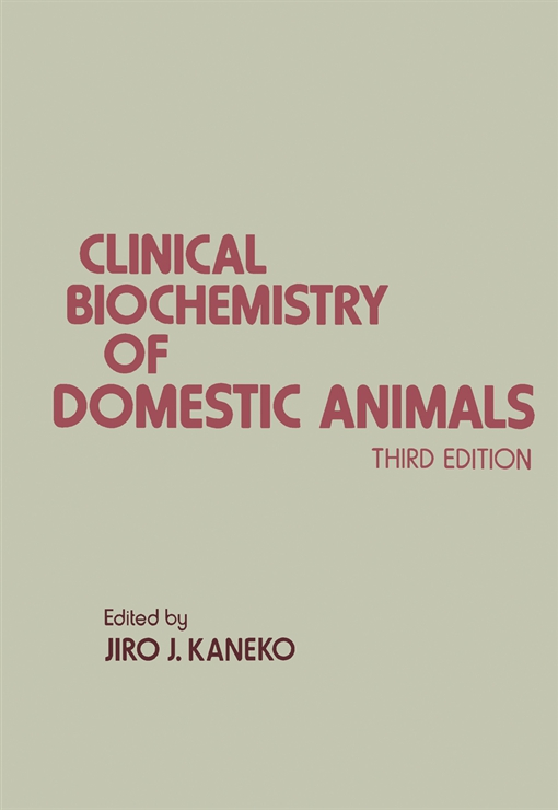 Clinical Biochemistry of Domestic Animals