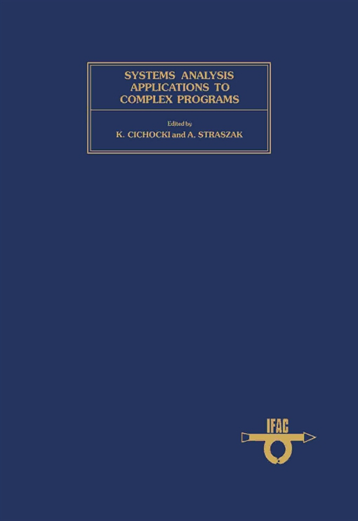 Systems Analysis Applications to Complex Programs