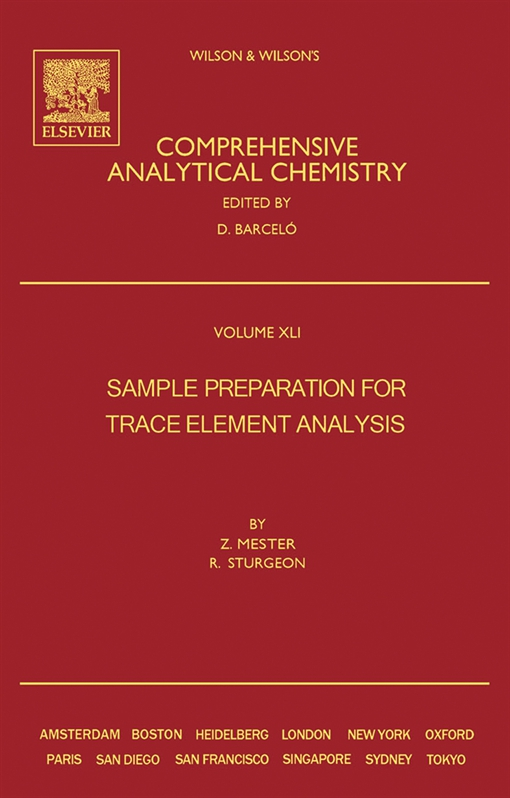 Sample Preparation for Trace Element Analysis