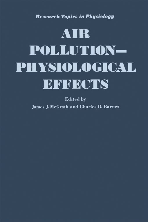 Air Pollution: Physiological Effects