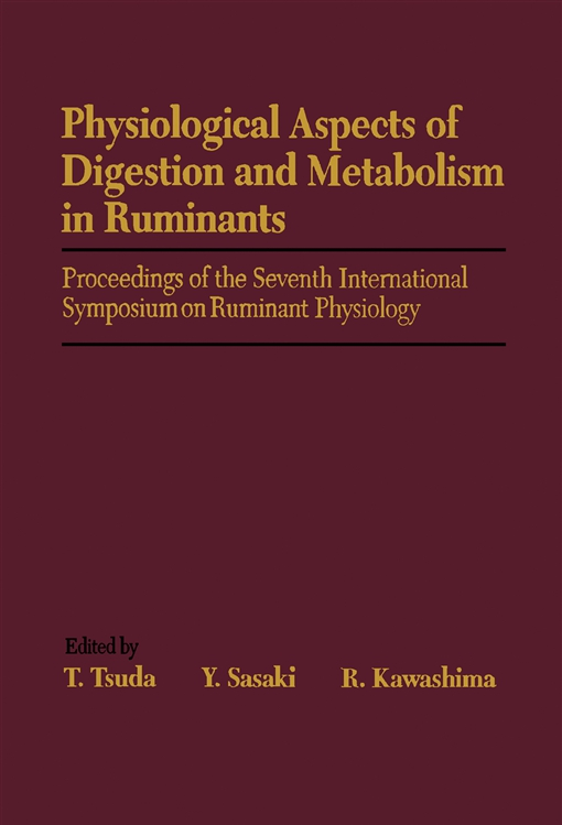 Physiological Aspects of Digestion and Metabolism in Ruminants