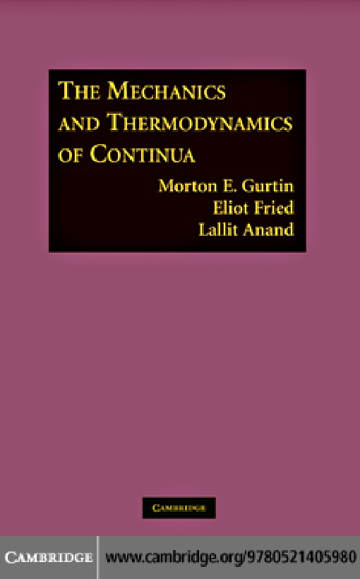 The Mechanics and Thermodynamics of Continua
