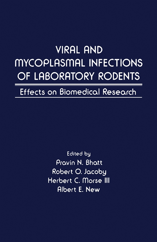 Viral and Mycoplasmal of Laboratory Rodents