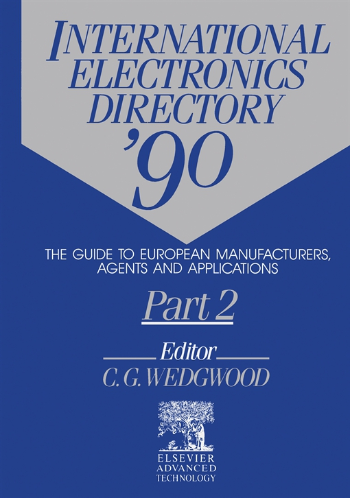 International Electronics Directory '90