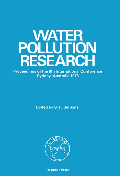 Eighth International Conference on Water Pollution Research
