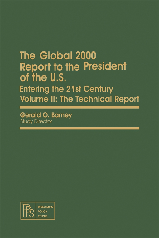 The Global 2000 Report to the President of the U.S.