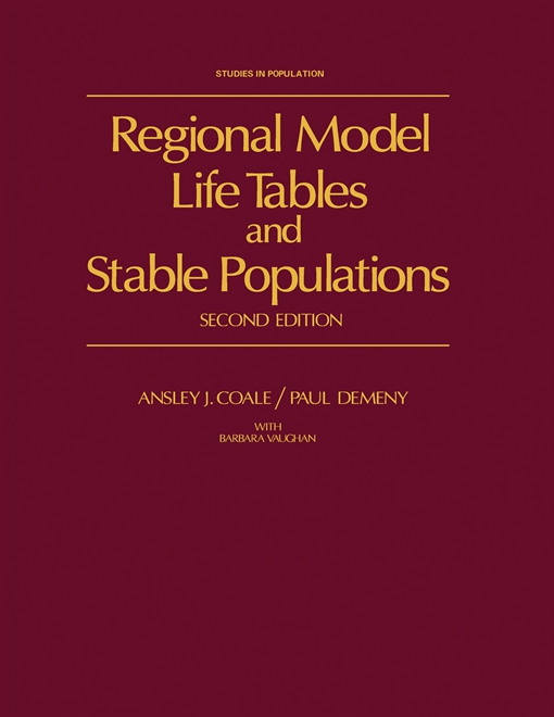 Regional Model Life Tables and Stable Populations