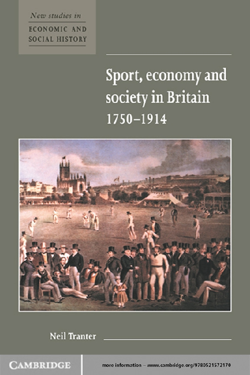 Sport, Economy and Society in Britain 1750–1914