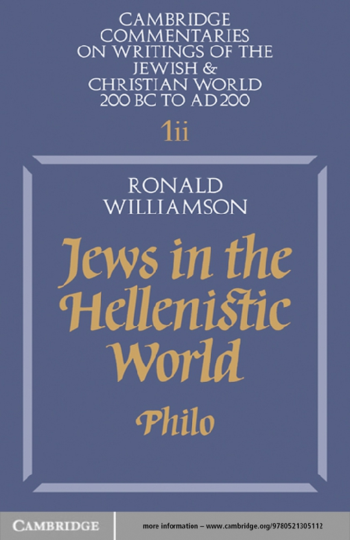 Jews in the Hellenistic World: Volume 1, Part 2