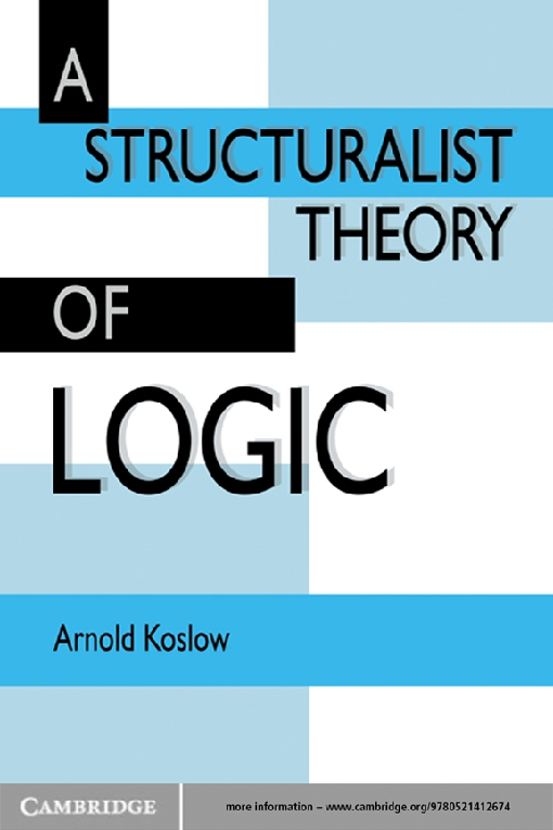 A Structuralist Theory of Logic