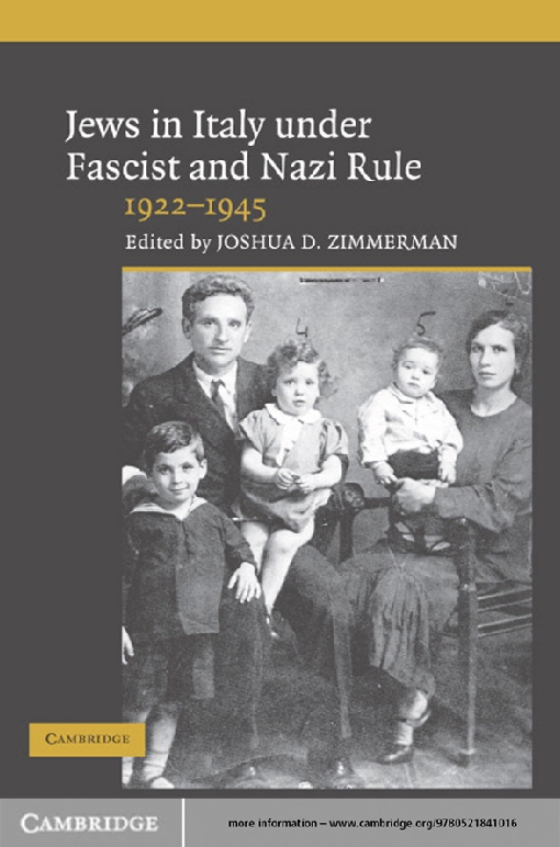 Jews in Italy under Fascist and Nazi Rule, 1922–1945