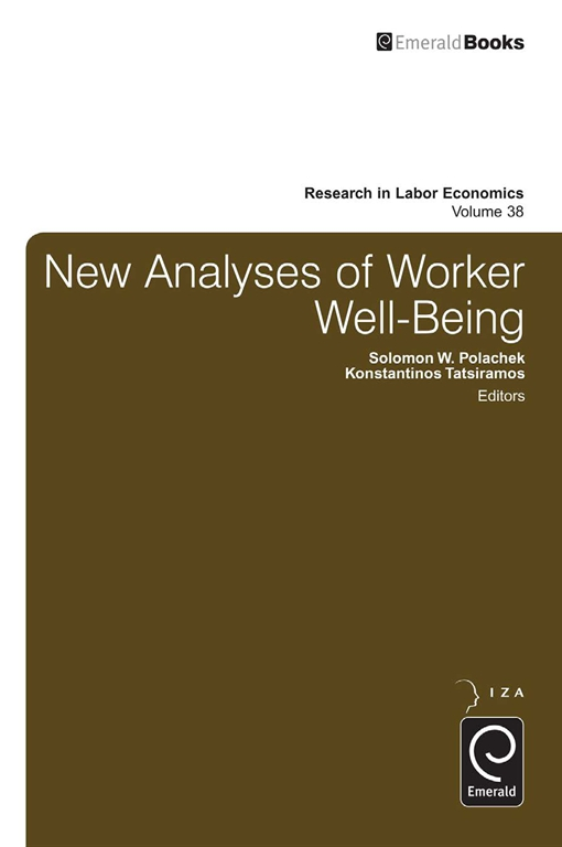 New Analyses in Worker Well-Being