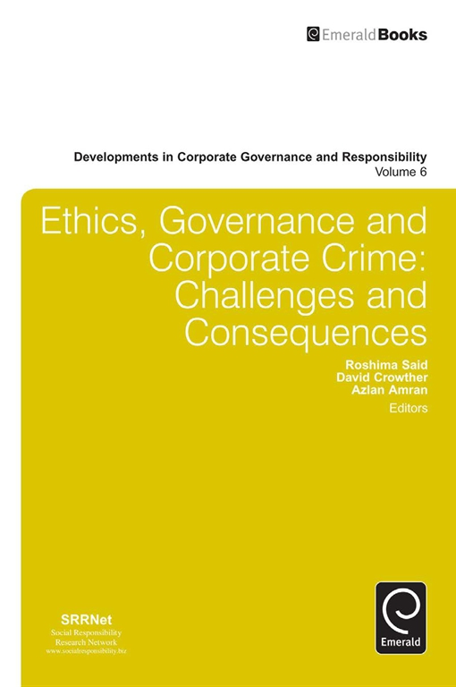 Ethics, Governance and Corporate Crime