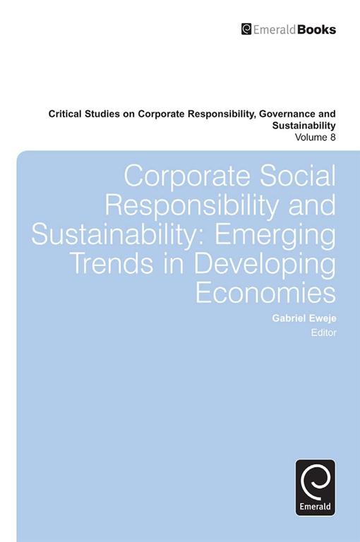 Corporate Social Responsibility and Sustainability
