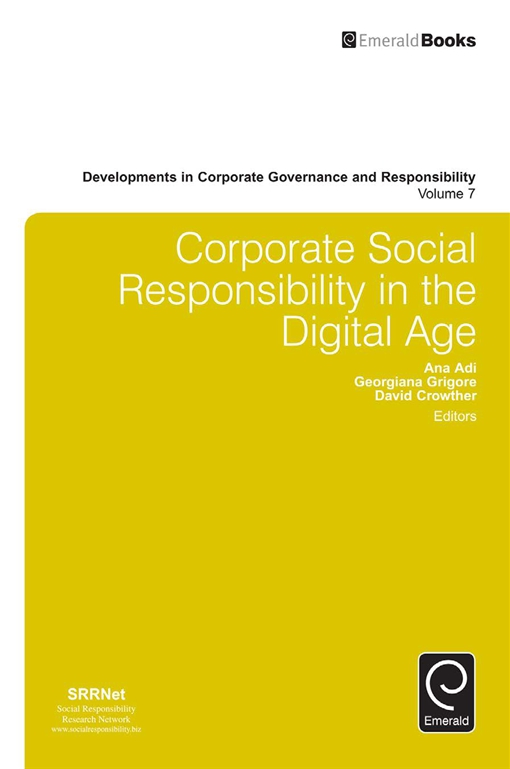 Corporate Social Responsibility in the Digital Age