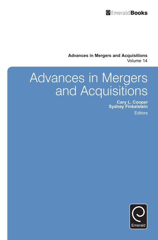 Advances in Mergers & Acquisitions