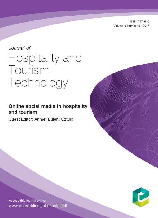 Online social media in hospitality and tourism