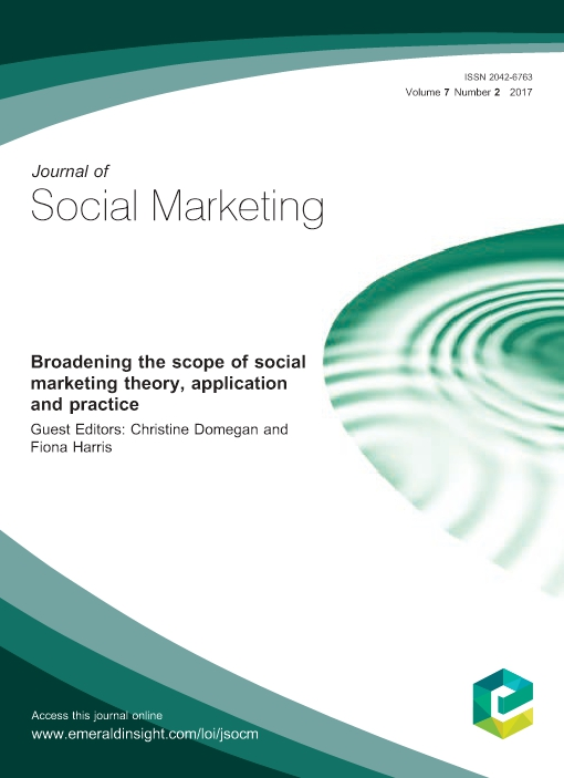 Broadening the scope of social marketing theory, application and practice