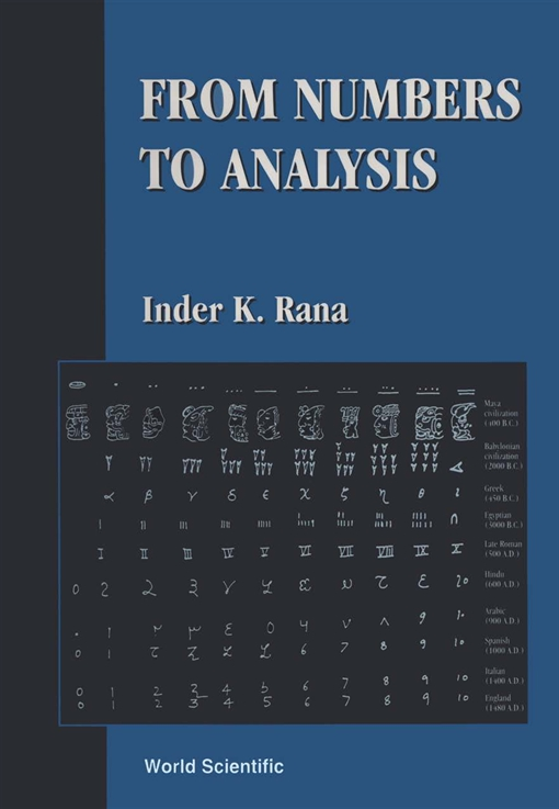 From Numbers to Analysis