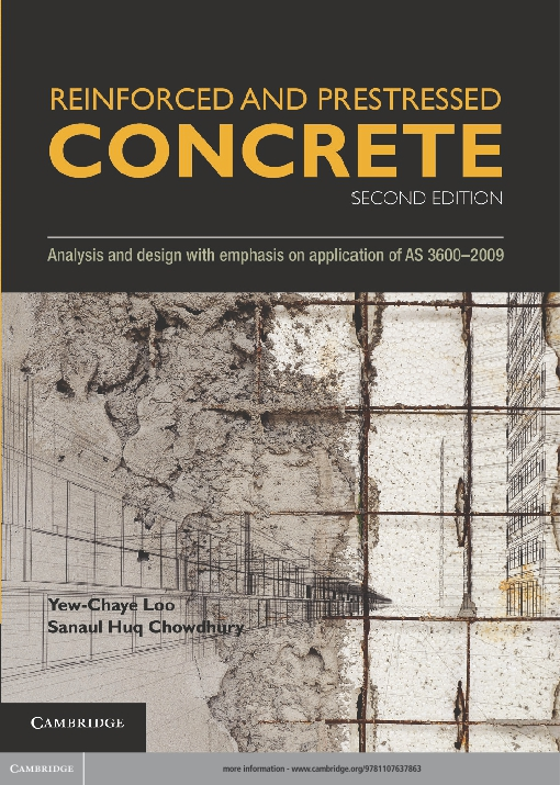 Reinforced and Prestressed Concrete