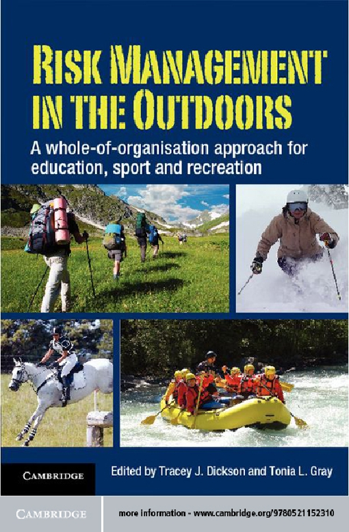 Risk Management in the Outdoors