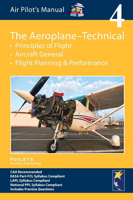 Air Pilot's Manual Volume 4, The Aeroplane-Technical Book