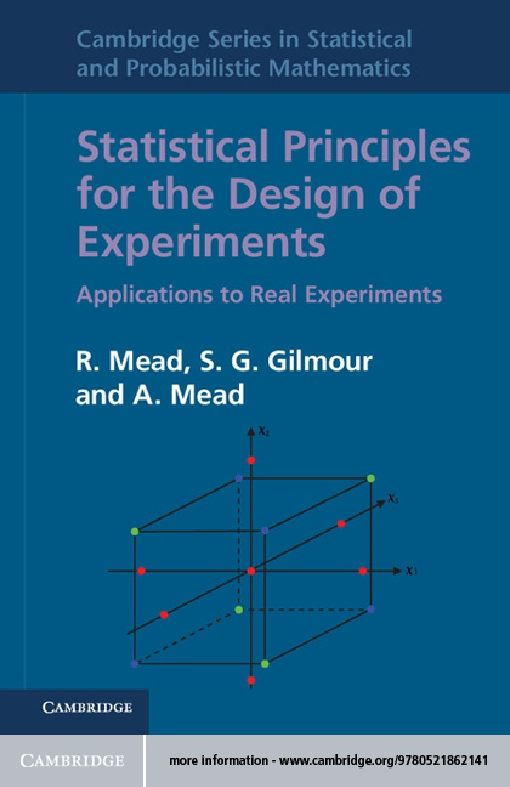 Statistical Principles for the Design of Experiments