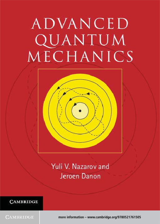 Advanced Quantum Mechanics