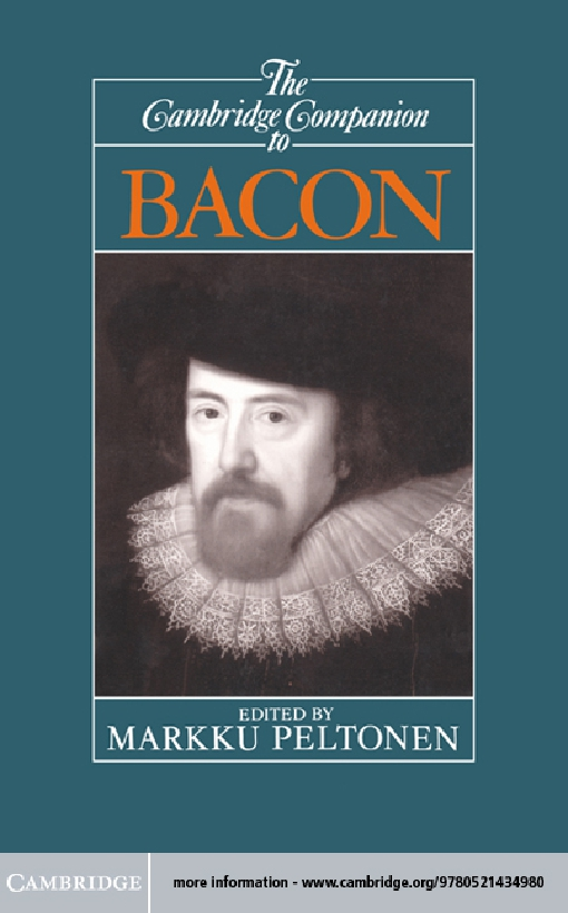 The Cambridge Companion to Bacon