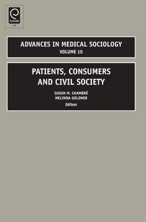 Patients, Consumers and Civil Society